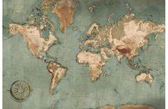 world map poster vintage wall art Vintage Maps, Antique Maps, Vintage Wall Art, Vintage Posters, World Map Wallpaper, Laptop Wallpaper, Wallpaper Pc, World Map Art, World Map Poster