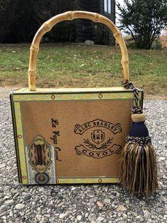 Cigar Box Purse - VLM Collection handmade by Victoria No. 5 - Las Vegas  Coyote 97b293d57e2d2