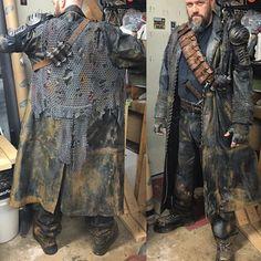Post Apocalyptic Clothing, Post Apocalyptic Costume, Post Apocalyptic Art, Post Apocalyptic Fashion, Apocalypse Armor, Apocalypse Costume, Apocalypse Fashion, Larp, Mad Max Costume