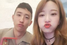 Hani and her brother Tae Hwan