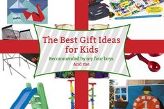 Awesome list: the best gift ideas for kids (toys that don't just get scattered and thrown away)
