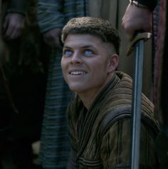 Ivar the Boneless is reported to have had legs as soft as cartilage ('he lacked bones'), so that he was unable to walk and had to be carried about on a shield. He could have been quite capable of using a longbow and taken part in battle, as Viking society would have expected a leader to do