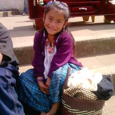 Gorgeous girl at Cobán, Guatemala