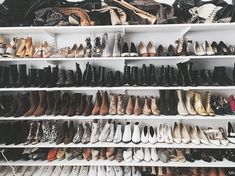 shoe closet goals