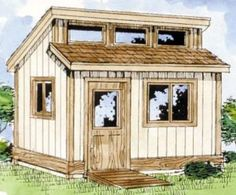 tool sheds | Tool Shed Plans – Construct Your Own Shed Workshop | Cool Shed ...