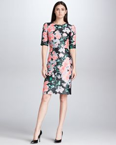 Erdem Floral Jacquard Dress - $1775