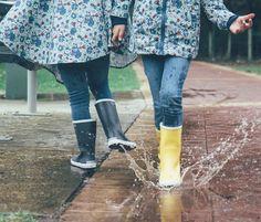 Enjoy the rain Rubber Rain Boots, Childhood, Instagram Posts, Shoes, Fashion, Moda, Infancy, Zapatos, Shoes Outlet