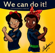 We can do it! by Abranime. #sociology #rosietheriveter #feminism