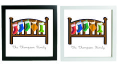 This Personalised Christmas frame is great. @printedpressies.co.uk.  At Only £15.00.  follow us on facebook