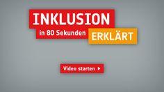 WAS IST INKLUSION? - In rund 80 Sekunden erklärt dieser Film im Strichmännchen-Stil, was Inklusion bedeutet: beim Sport, in der Schule, bei der Arbeit.