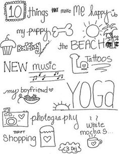 10 things that make me happy...