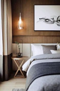 Transitional Bedroom Ideas - We have featured a lot of bedroom layouts currently and also for certain, you still like to see even more due to the fact that we never ever obtain enough of bedroom interior design ideas that . Bedroom Colors, Home Decor Bedroom, Bedroom Furniture, Bedroom Ideas, Bedroom Headboards, Wood Furniture, Vintage Furniture, Design Bedroom, Bedroom Artwork