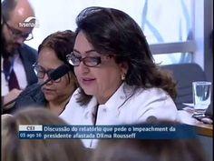 Senadora Kátia Abreu participa da Comissão de IMPEACHMENT 1/2