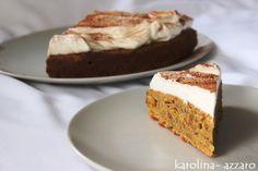 """karolina-azzaro: Carrot Cake s maple krémom (Mrkvový koláč """"Mrkváč""""..."""