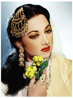 Suraiya - One of the first female superstar in Bollywood