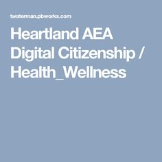 Making the online world a better place starts with you! Digital Citizenship, Health And Wellbeing, The Unit, Technology, School, Heartland, Tech, Tecnologia