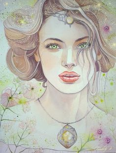 """Yavanna Kementári  was a Valië, one of the Aratar and was next to Varda in reverence. She was the elder """"sister"""" of Vána and the consort of Aulë. She was responsible for all things that grew in the earth . Her usual form was that of a tall woman robed in green. Melian (mother of Luthien) of the Maiar was of her kin"""