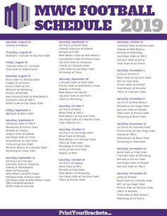 Wisconsin badgers 2020 football schedule