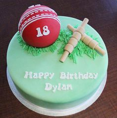 Cricket Cake by Say it with Cake