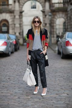 camille you rock Street Style Fall 2013 - London Fashion Week Street Style - Harper's BAZAAR