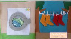 Máquina de Lavar com Varal de meias  Curta nossa página no facebook:  https://www.facebook.com/RetalhoeAmor Entre em contato através do e-mail: retalhoamor@yahoo.com.br