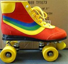 rollerskates 80's - I had blue ones !