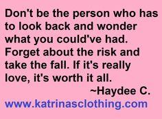 #love #risk www.katrinasclothing.com/store