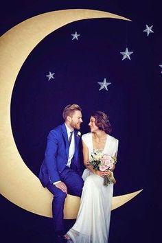 Mi Wedding Diario: DIY: PHOTOCALL Luna y Estrellas