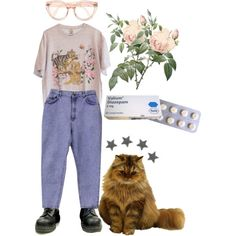 Untitled #52 by meh-okay on Polyvore featuring Cheap Monday, 90s and 80s
