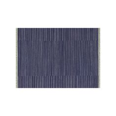 Loloi Anzio Fringe Striped Wool Rug, Purple
