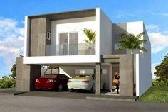 fachada moderna residencia #casasmodernasfachadasde