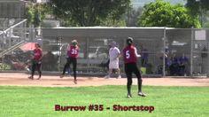 Emily Burrow: Shortstop Line Drive Catch Vs Legacy. Fast Pitch Softball ...
