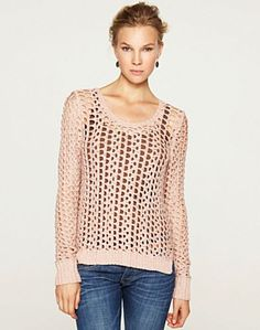 Macey Metallic Sweater - Sweaters - Lucky Brand Jeans