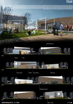 """kolokyum.com - Galeri: Katılımcı - """"Semt Kültür ve Sosyal Etkinlik Evi"""" Ulusal Mimari Fikir Yarışması"""
