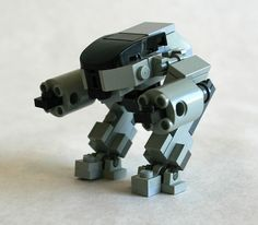 ED-209 3/4 by MacLane, via Flickr