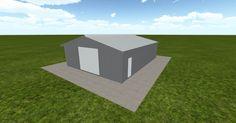 3D #architecture via @themuellerinc http://ift.tt/2n87QvC #barn #workshop #greenhouse #garage #DIY