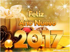 Tarjetas y Postales para desear Feliz Año 2017 - Imágenes Tarjetas Postales con Nombres | Feliz Cumpleaños