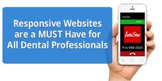 InfoStar's new dental websites are responsive as specified by Google and are feature rich. Our responsive websites have attracted more hits from mobile devices and have seen a sharp increase in time-on-site.  We include some things that no other company provides its customers as part of every dental website project. #ResponsiveWebsite #DentalWebsite