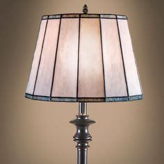 stained glass drum lamp shade - Google Search