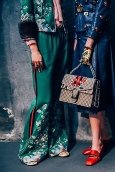 awesome en trend ways to style your vintage wardrobe inspiration new GUCCI SS 2016 show is full of them alice