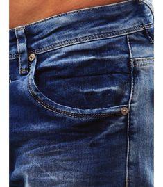 Pánske modré džínsové nohavice Pants, Fashion, Moda, Trousers, Women Pants, Women's Pants, Fasion