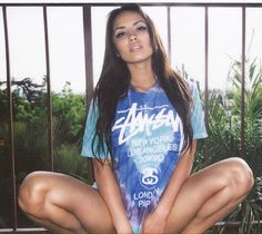 Stussy Girls. #fashion #streetwear || AcquireGarms.com