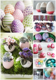 Easter-Egg Crafts for Grown-ups