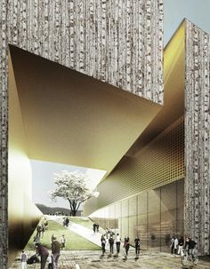 Gallery of New Musée Cantonal des Beaux-Arts Competition proposal / Allied Works Architecture - 11