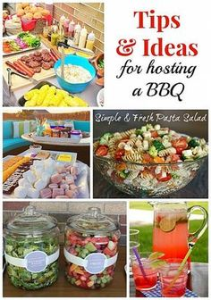 Warm weather means more outdoor entertaining and nothing beats a traditional barbecue! Addicted 2 DIY shares some of her tips for easy, breezy summer time fun. Summer Bbq, Summer Parties, Summer Time, Summer Food, Summer Party Foods, Outdoor Parties, Outdoor Entertaining, Barbecue Party, Barbecue Sides