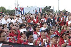 al acto nacional por el aniversario de los asaltos a los cuarteles Moncada y Carlos Manuel de Céspedes