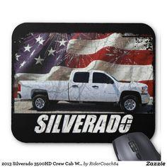2013 Silverado 3500HD Crew Cab W/T Long Bed Mouse Pad