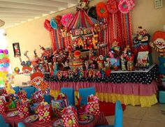 "CIRCUS FUN / Birthday ""Circus Carnival"" 