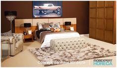 Ospitalitatea, plăcerea și bunăvoința cu care vă primiți fiecare musafir este completată de calitatea mobilierul pe care îl alegeți pentru camerele lor.  Iată 5 sfaturi despre cum să vă alegeti mobilierul potrivit pentru camera hotelului sau pensiunii voastre.