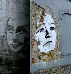 Mind-Blowing Deconstructed Wall Art from Alexandre Farto aka Vhils